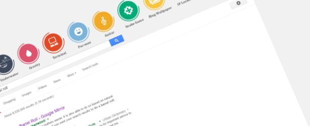 google-barrel-roll