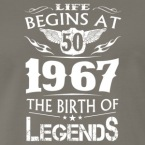 life-begins-at-50-1967-the-birth-of-legends-men-s-premium-t-shirt